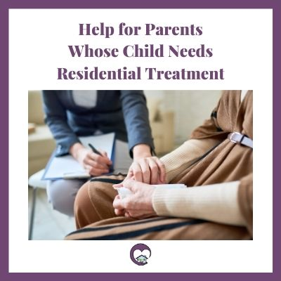 help for parents with support of therapist with hands